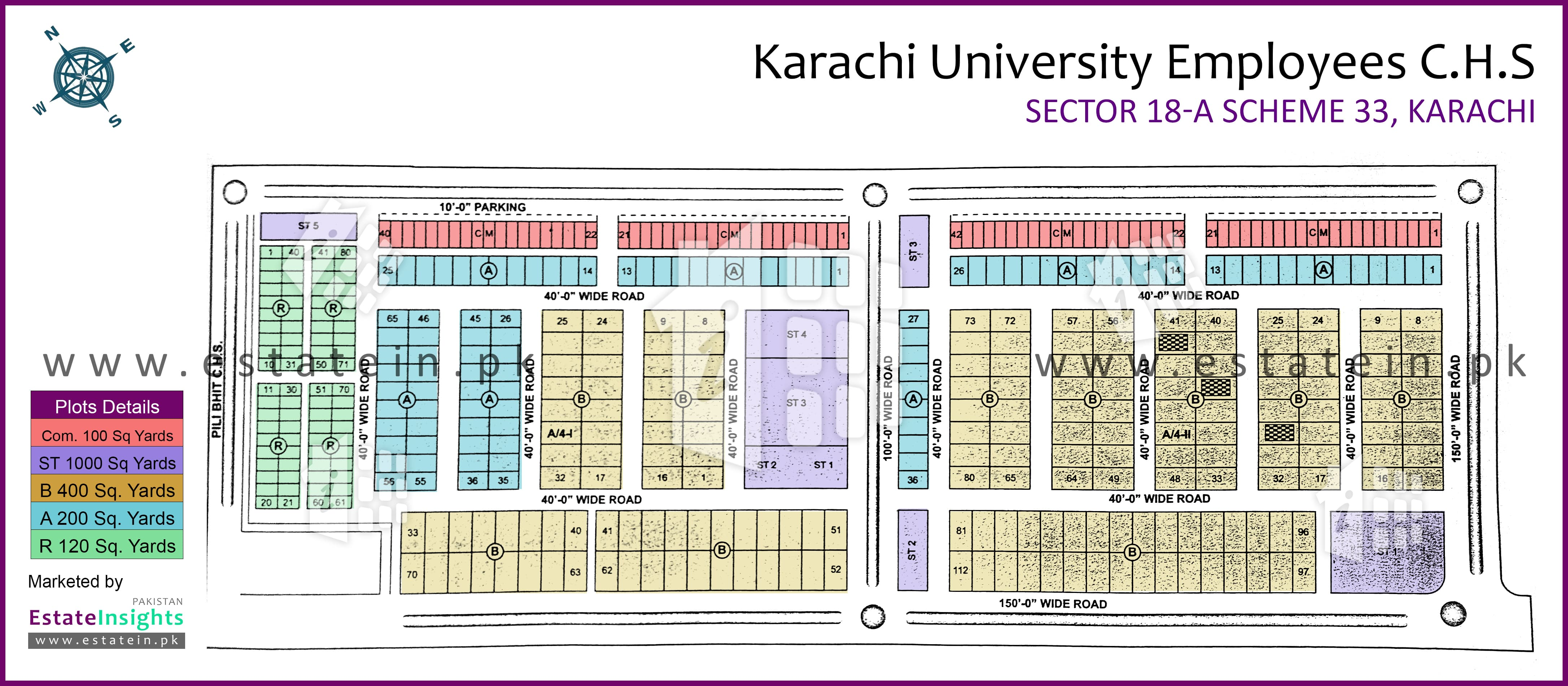View High Resolution Project / Society Maps / Siteplan of
