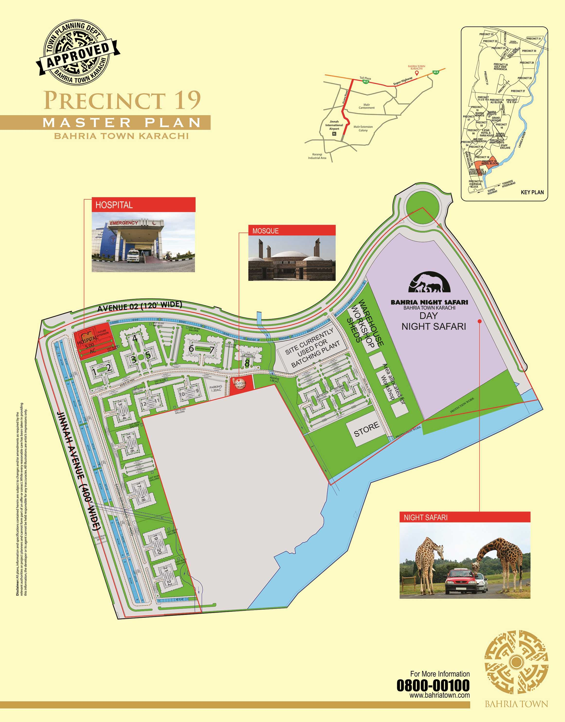 Site Plan of Tower-9 of Bahria Apartment