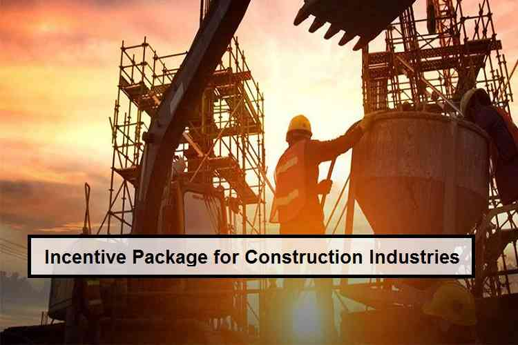 Incentive Package for Construction Industry has been approved by Federal Cabinet on 17 Apr 2020