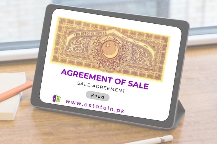 Sample Sale Agreement Pakistan