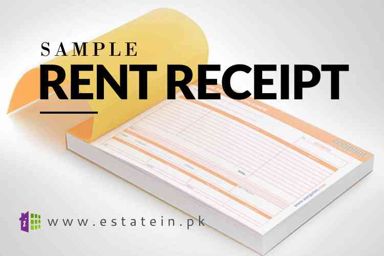 Sample Rent Receipt