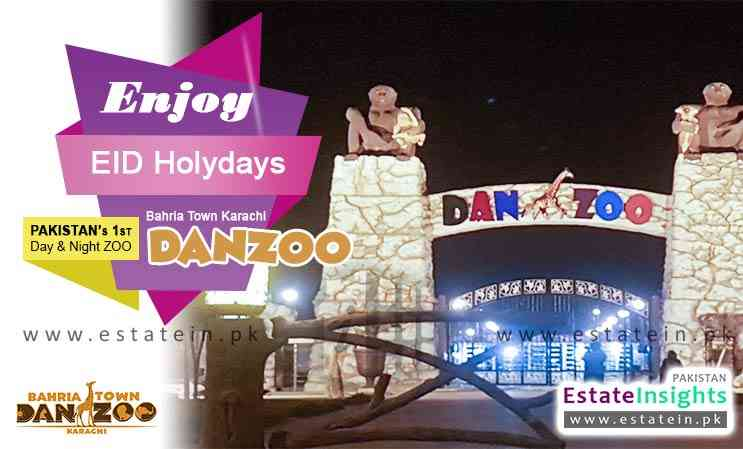 Enjoy EID Holidays at Bahria Town Karachi DANZOO Day & Night Zoo