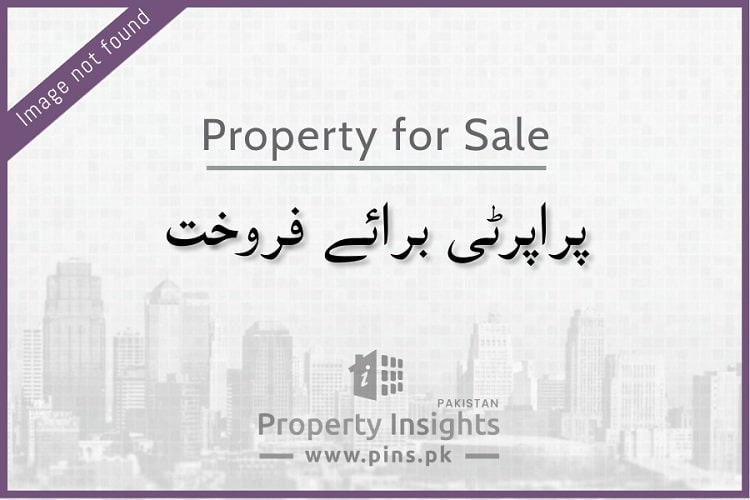 240 sq yd West Open plot for sale in Pir Ahmed Zaman Town