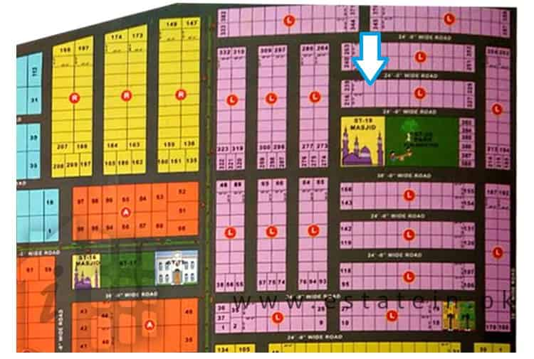 80 Sqy Plot for Sale in Diamond City Gulshan e Maymar