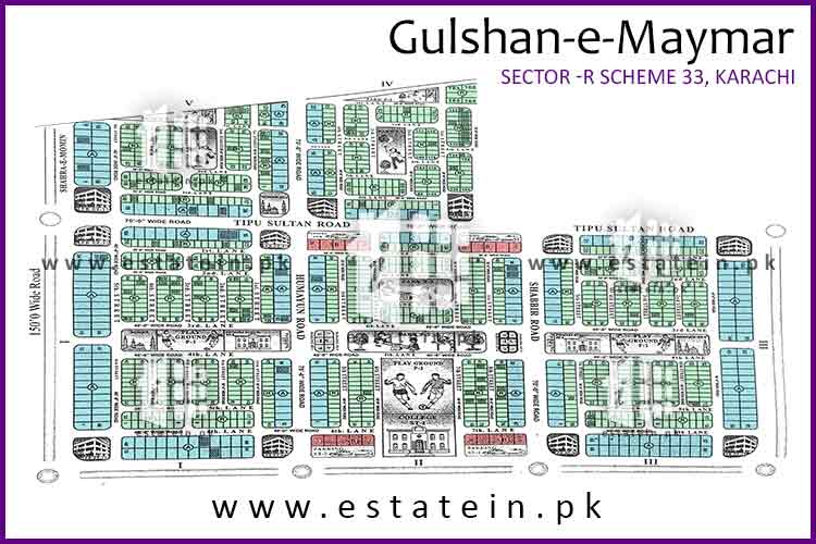 240 Sq Yards West open Plot for Sale in Sector R3 Gulshan-e-Maymar