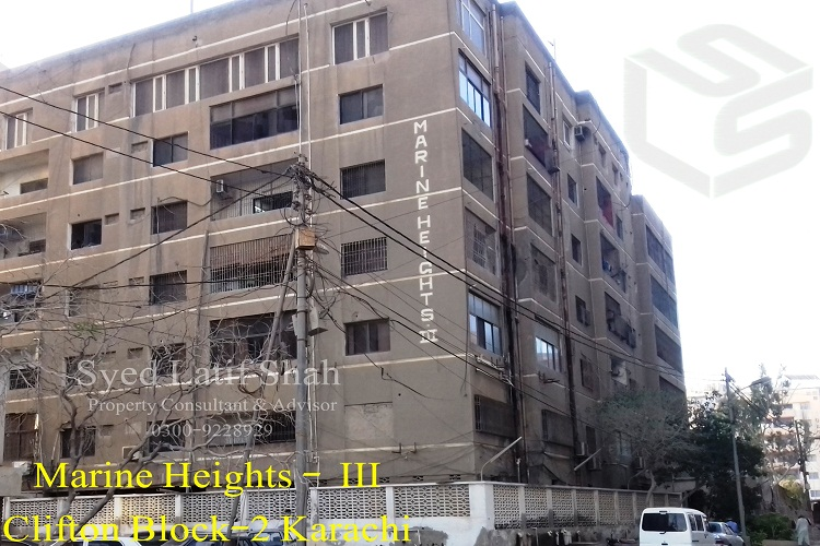 2200 Sq Ft Luxury Apartment for Sale in Marine Height–3 Block 2 Clifton
