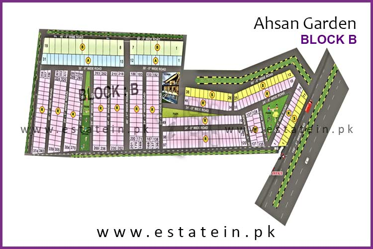 120 Sqy Plot for Sale in Ahsan Garden Block B