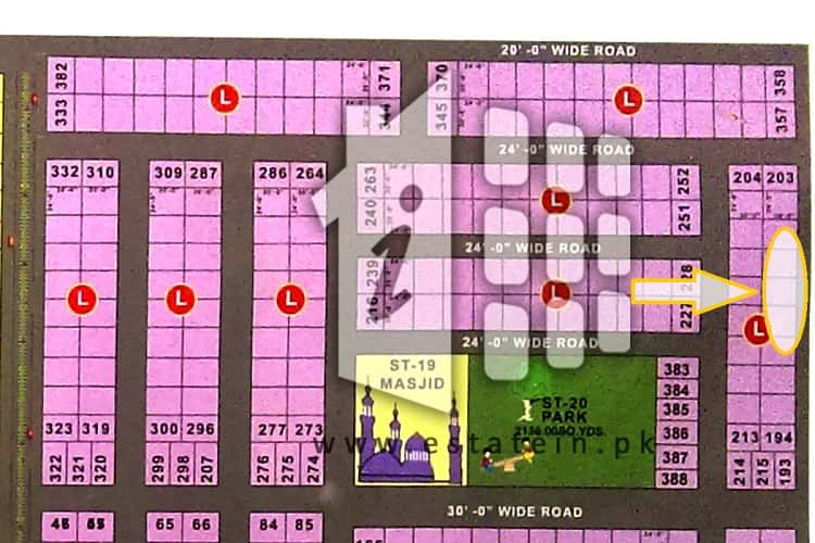 Good Location 80 Sqy Plot for Sale in Diamond City