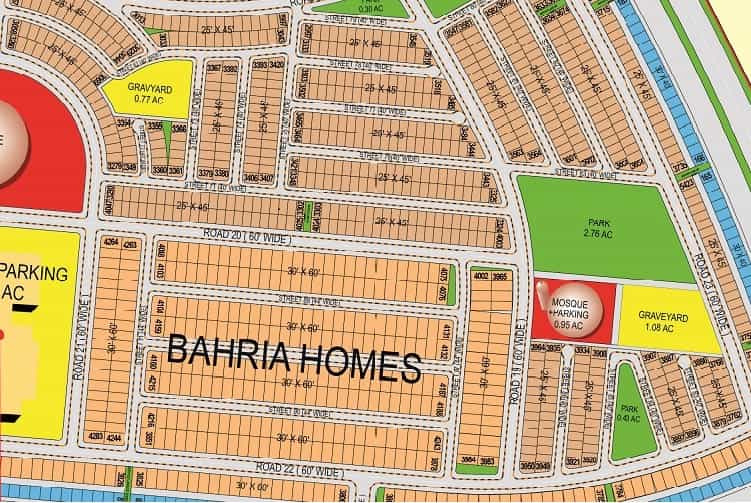 125 Sqy Plot for Sale in Precinct-27 Bahria Town Karachi