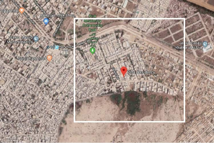 550 Sq Yards Plot for Sale in Petal Residency Gulistan-e-Johar Block 9A Extension