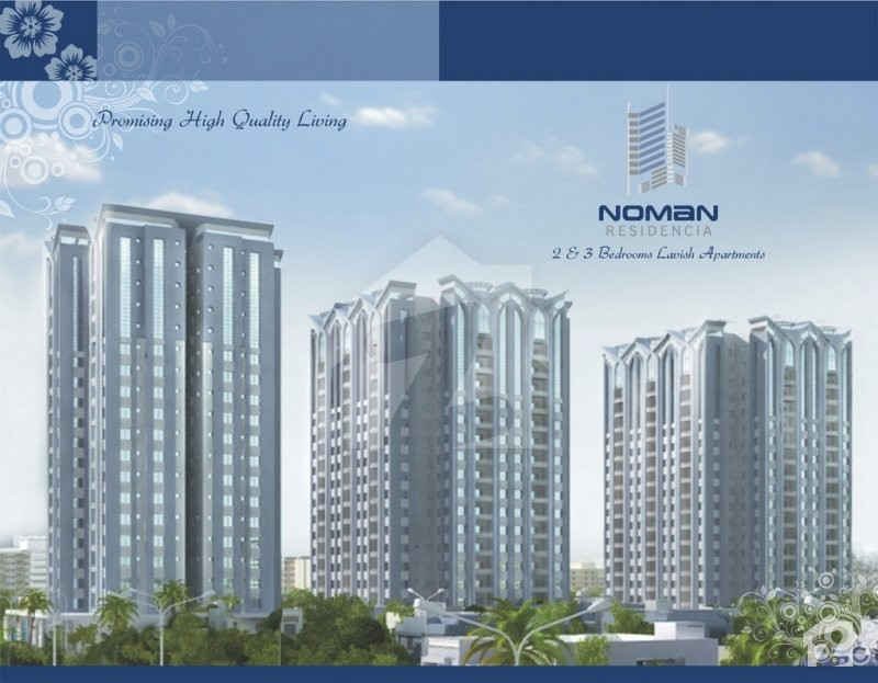 2 Bed DD Apartment for Sale in Noman Residencia Scheme 33