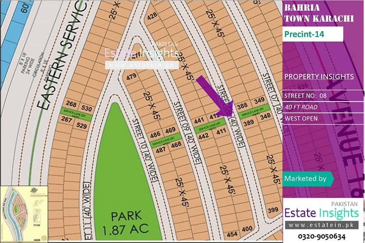 Ideal Plot in Precinct-14 Corner West Open