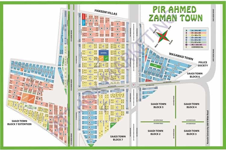 240 Sqy Plot for sale in Pir Ahmed Zaman Town