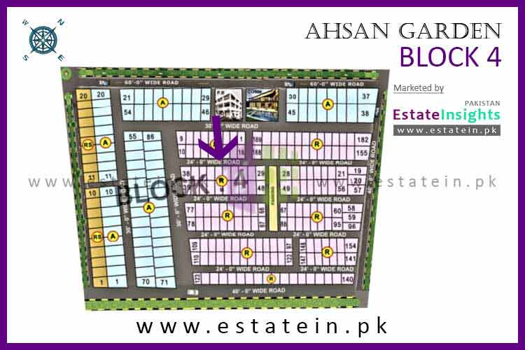 200 Sqy Plot for Sale in Ahsan Grand City Scheme 33