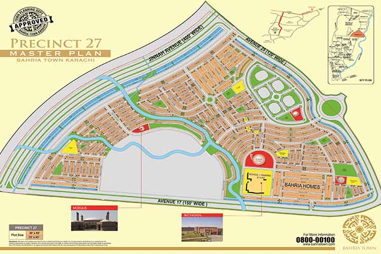 125 Sqy on Precinct 27 Plot for Sale only in 20 Lac