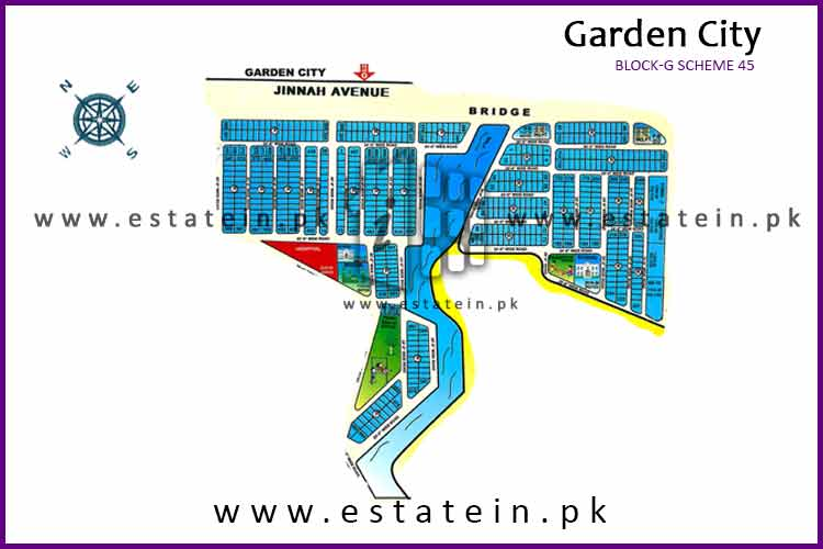 120 Sqy plot for sale  block G , Garden City