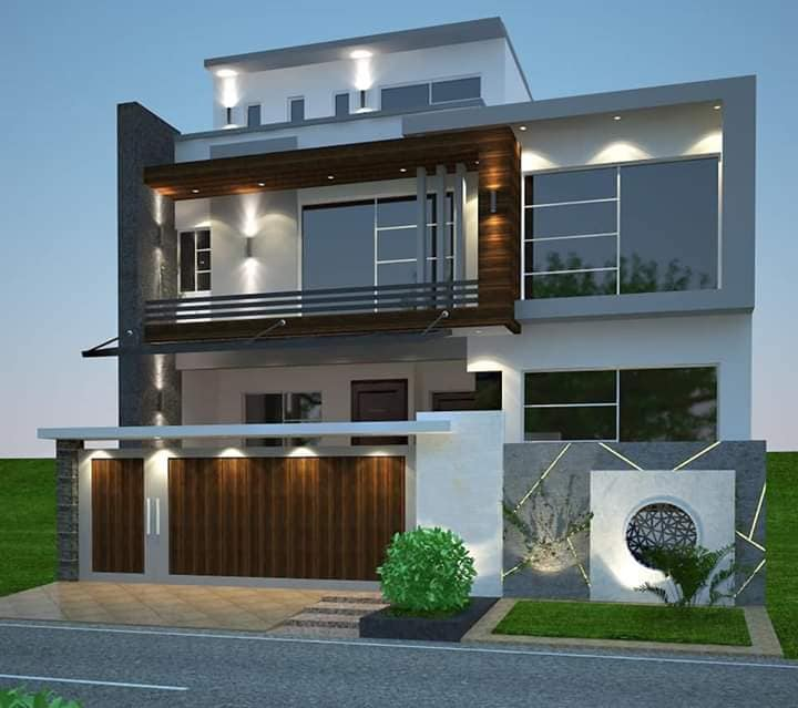 120 yards Ground+2 House for Sale in Bufferzone