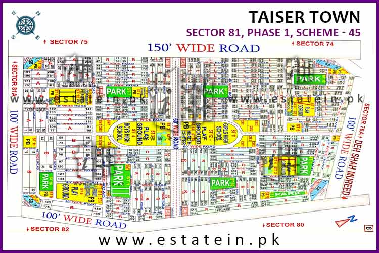 Sector 81 80 yars plot for sale Taiser Town Phase 1